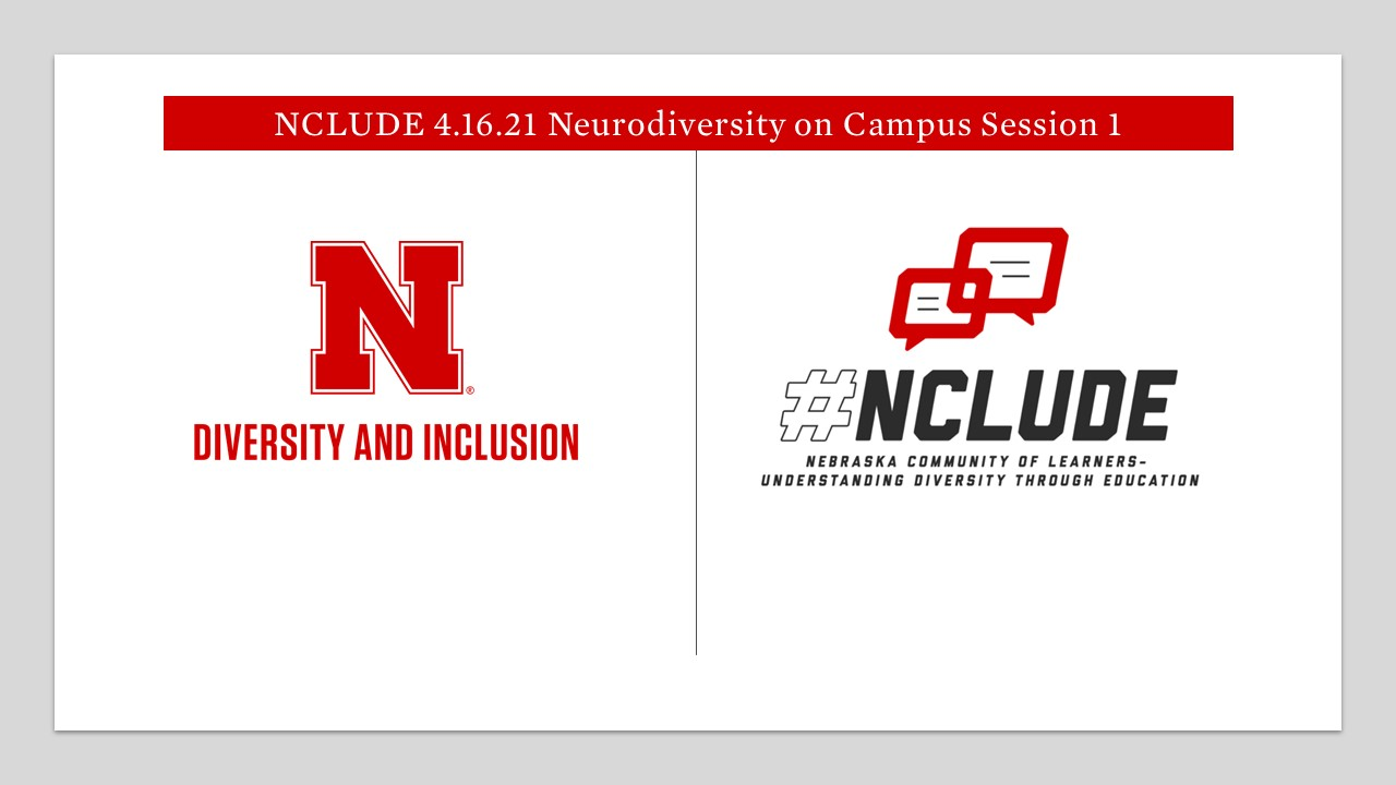 NCLUDE 4.16.21 Neurodiversity Session 1