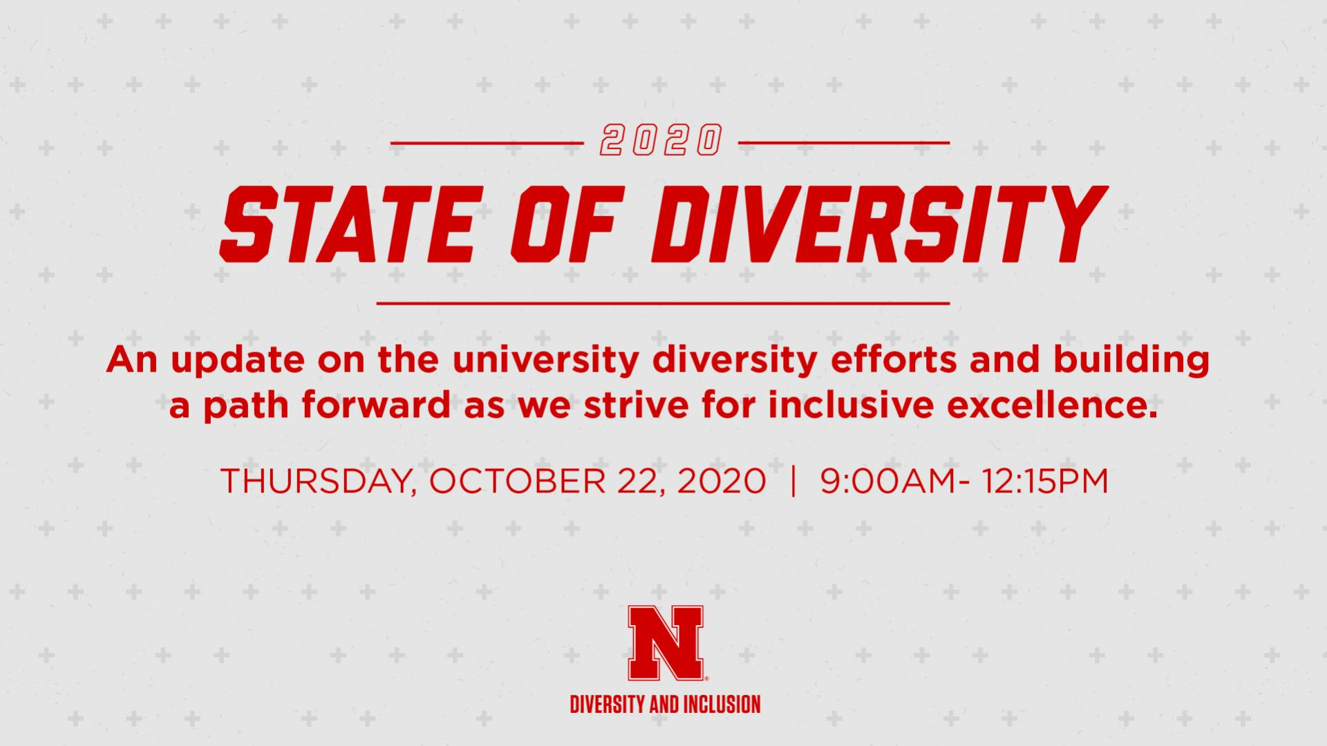 2020 State of Diversity Session II