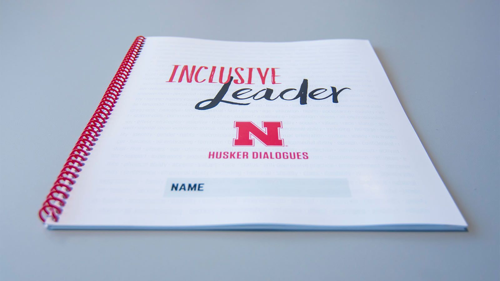 Cover of the Inclusive Leadership notebook