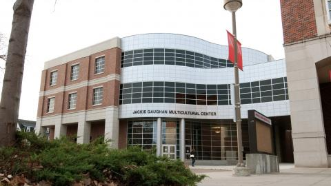 Photo of exterior of Jackie Gaughan Multicultural Center