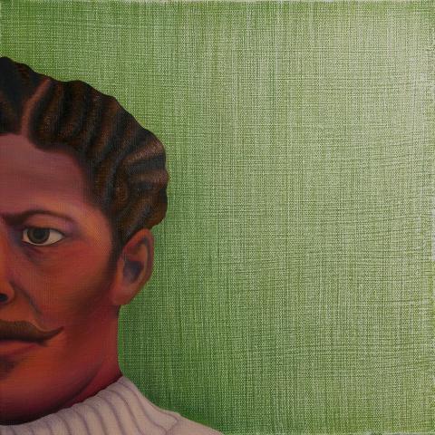 Artwork featuring George Flippin, UNL alumnus