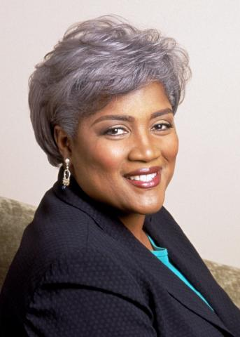 Portrait photo of Donna Brazile