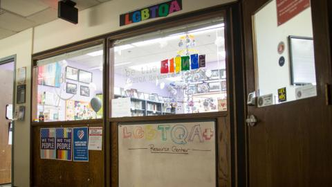 The LGBTQA+ Resource Center in the Nebraska Union at the University of Nebraska-Lincoln on Monday, Jan. 7, 2019, in Lincoln, Nebraska. | Daily Nebraskan