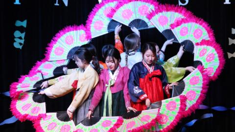 Korean fan dance