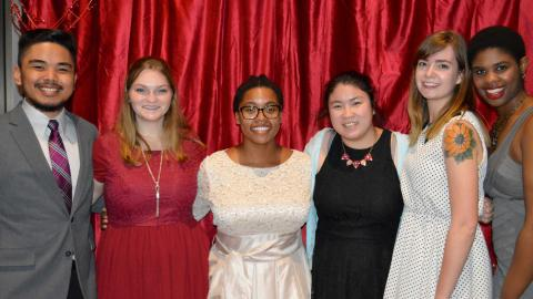 Students danced the night away and snapped lots of photos at A Love Affair Gala, a formal event coordinated by the Office of Academic Support and Intercultural Services.