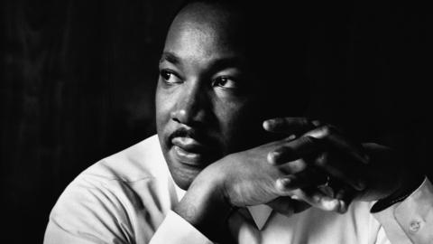 Portrait photo of Martin Luther King, Jr.