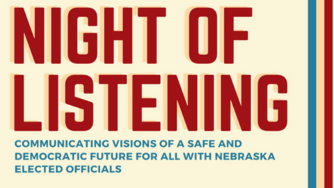Night of Listening text icon
